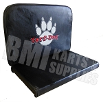 Double Vinyl Seat with Yerf-Dog Paw Logo