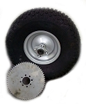 ---Out of Stock--- 20 x 7-8 Knobby Tire with Rim & Sprocket for Mini Bike (Rear)