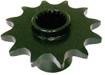 Final Shaft 12T #520 Sprocket - 19 Spline