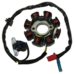 8 Pole Stator for GY6, 150cc Engine
