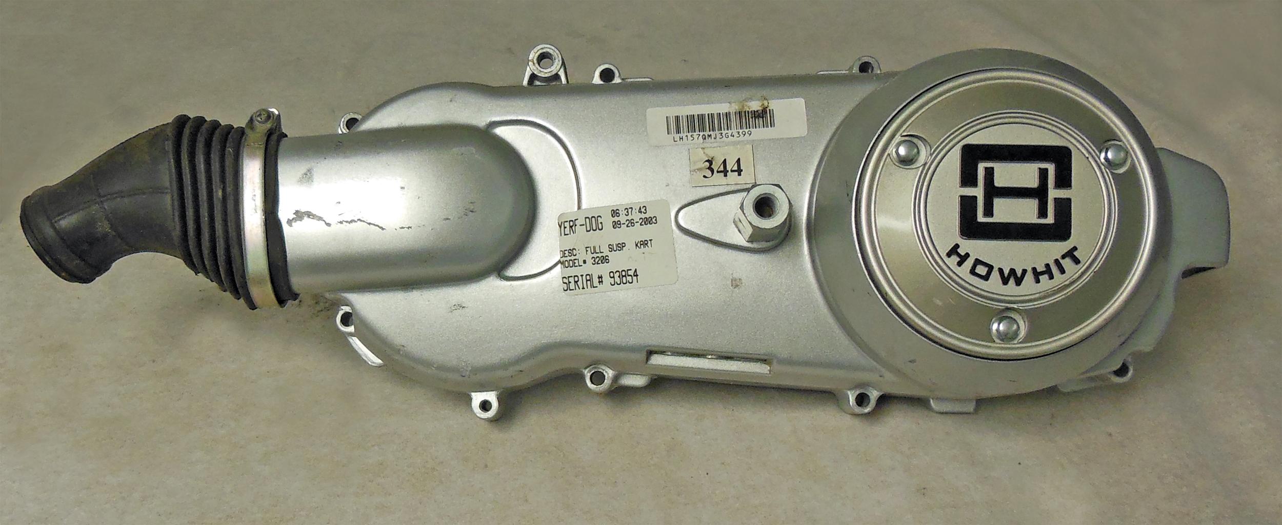Cu on Yerf Dog 150cc Engine