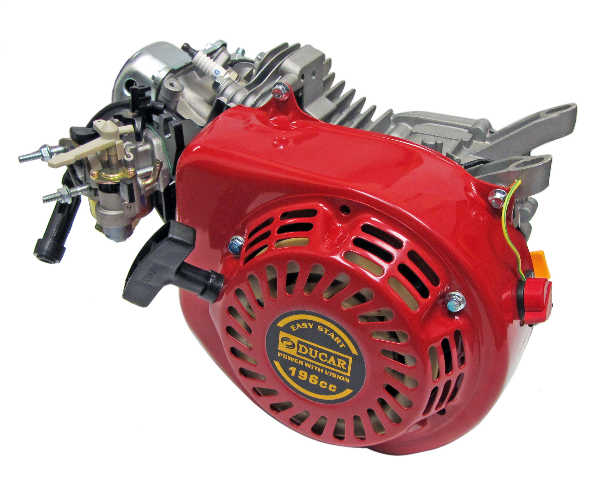 Red Ducar 196cc Ohv Clone Engine 200800 Bmi Karts And