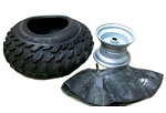 16 x 8-7 Knobby Tire, Tube & Rim (1