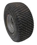 ---Out of Stock--- 15 x 6.00-6 SuperTurf Tire & Rim (Front) (Used)