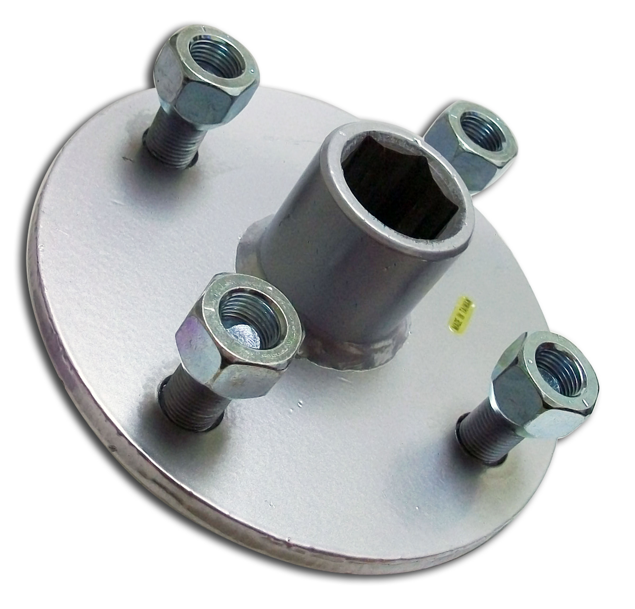 Go Cart Axles With Hubs : Rear wheel hub w quot hex bore on bolt pattern for go