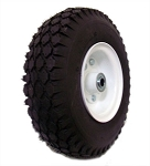 4.10/3.50 Tire with Rim (Split) - Front