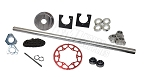 Drift Trike 1-1/4'' Tubular Axle Kit  (#35 Chain)