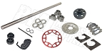 Drift Trike 1-1/4'' Tubular Axle Kit with Clutch (#35 Chain)