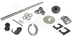 Drift Trike 1-1/4'' Tubular Axle Kit with Clutch (#40 Chain)
