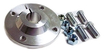 4 x 4 Billet Aluminum Wheel Hub (1-1/4