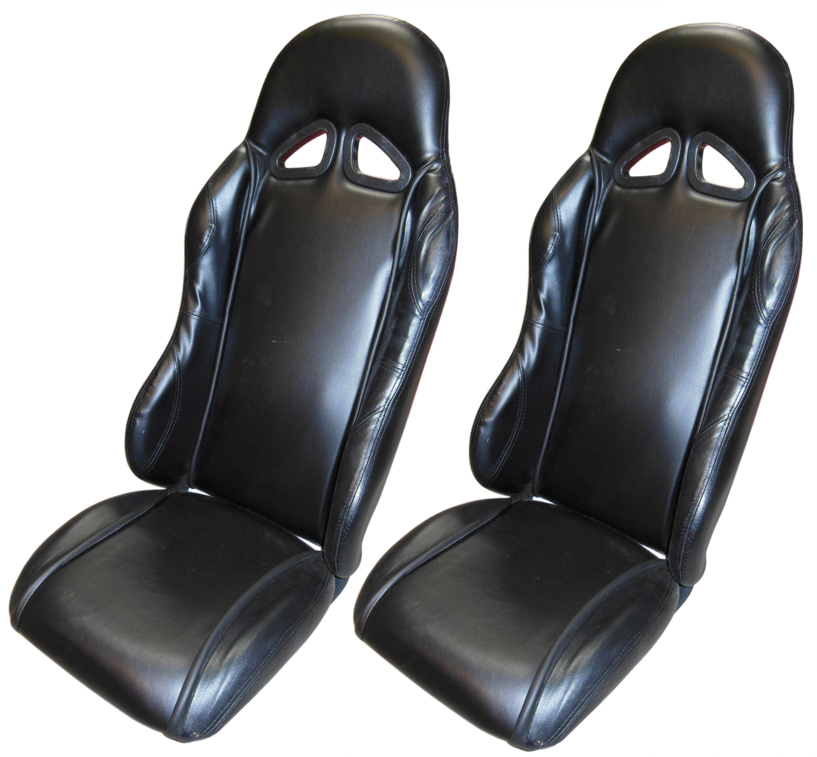 Padded Bucket Seat Set 2 For Go Kart 400549 Bmi