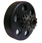 Max-Torque Dual Sprocket Clutch for Two Speed MiniBikes