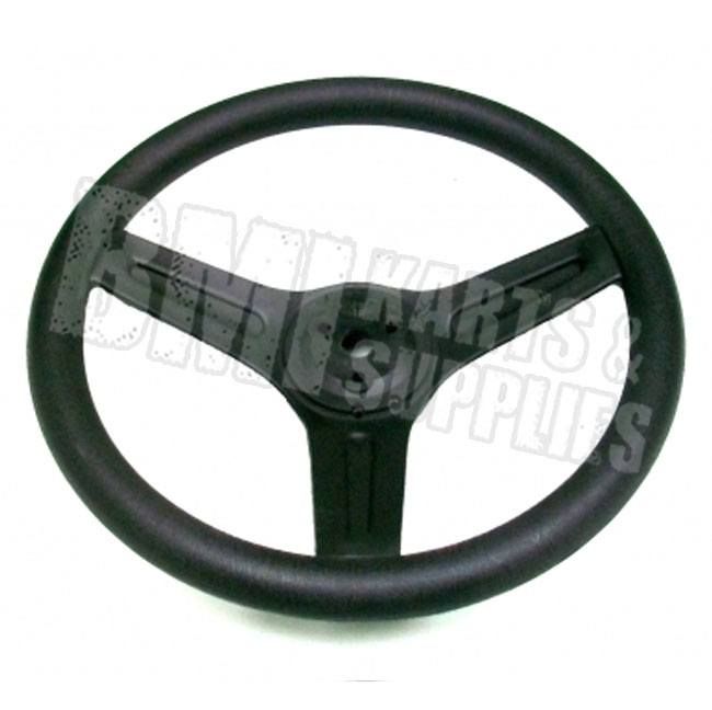 Plastic Steering Wheel : Plastic quot steering wheel go kart fun cart yerf dog manco