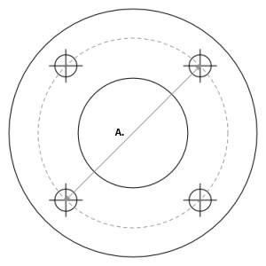 How To Measure Wheel Bolt Patterns On Go Kart Wheels