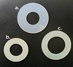 Universal Gym Plastic Washers / O-Rings