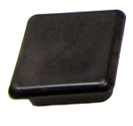 Universal Gym Equipment - 25mm square plug