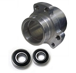 **Out of Stock** Step Down Racing Wheel Hub (Front with Bearings)