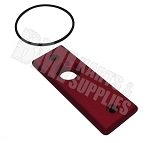 Aluminum Cap for MCP Billet Master Cylinder (Red)