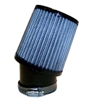 Angled Fabric Air Filter, 2-7/16