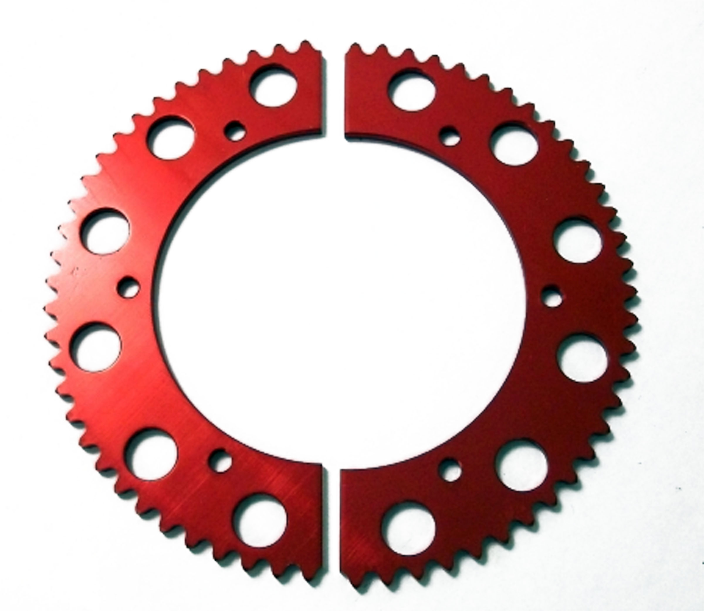 Go Kart Sprockets And Chains : T tooth chain split sprocket two piece gear racing