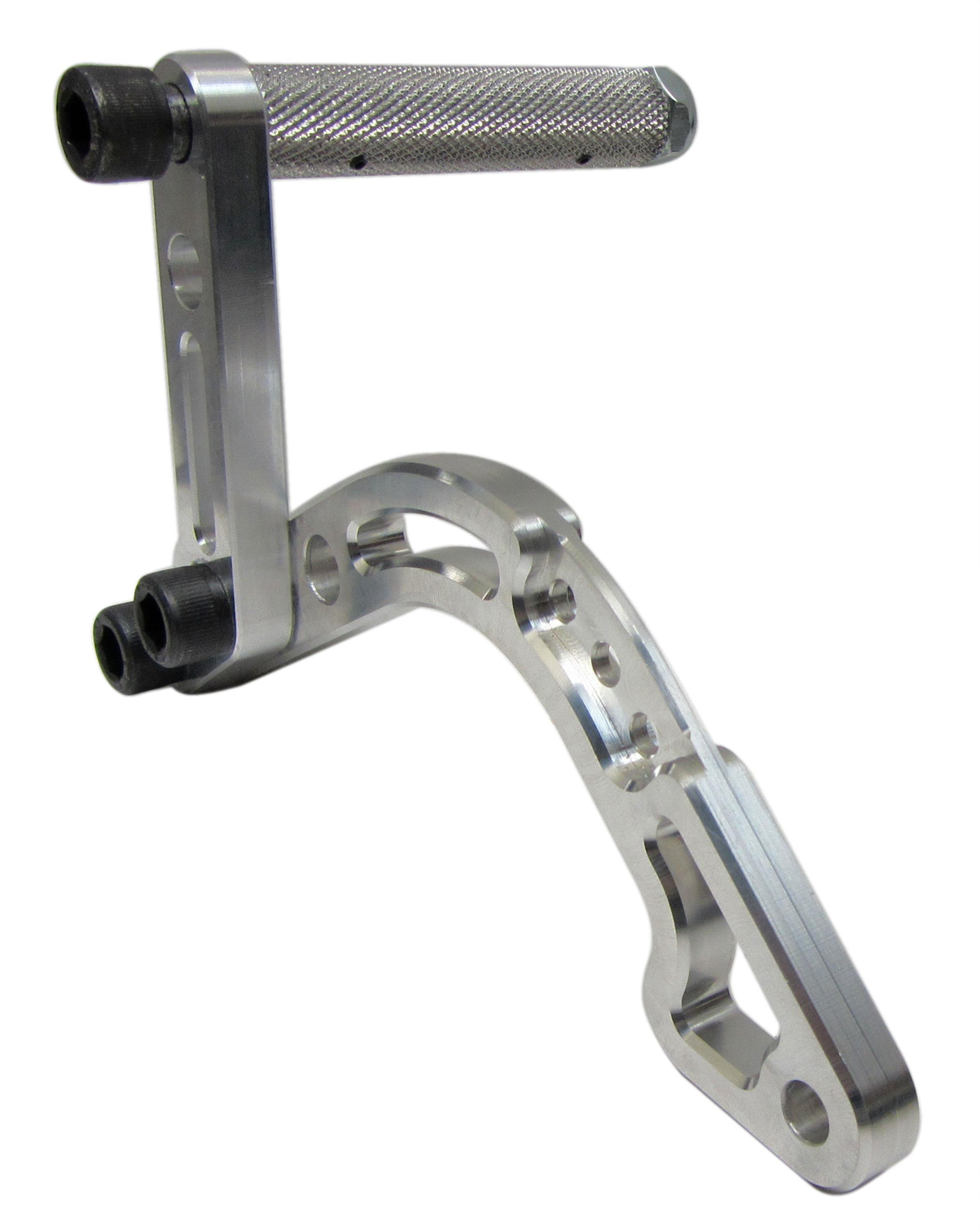 kid kart billet foot pedal extension kit gas or brake 650002k bmi karts and parts. Black Bedroom Furniture Sets. Home Design Ideas