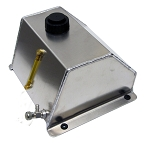 Low Profile 4 Qt. Aluminum Fuel Tank