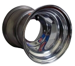 8 x 9 Douglas Polished Aluminum Wheel (Metric)