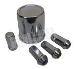 ---Out of Stock--- Axle Cover Trim Kit (Chrome Center Cap with Chrome Lug Nuts)
