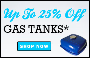 Up To 25% Off Fuel Tanks!