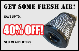 Up To 40% Off Air Filters