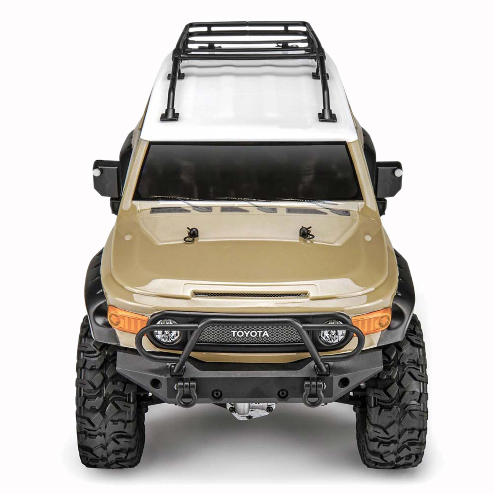 HPI Venture Toyota FJ Cruiser Sandstorm 1 10 4WD Brushed