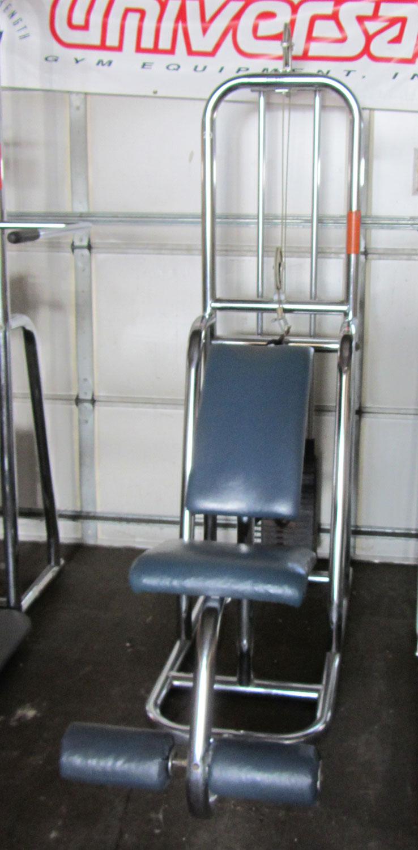 Universal gym equipment exercise chart 2014