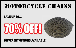 Up To 70% Off Motorcycle Chains