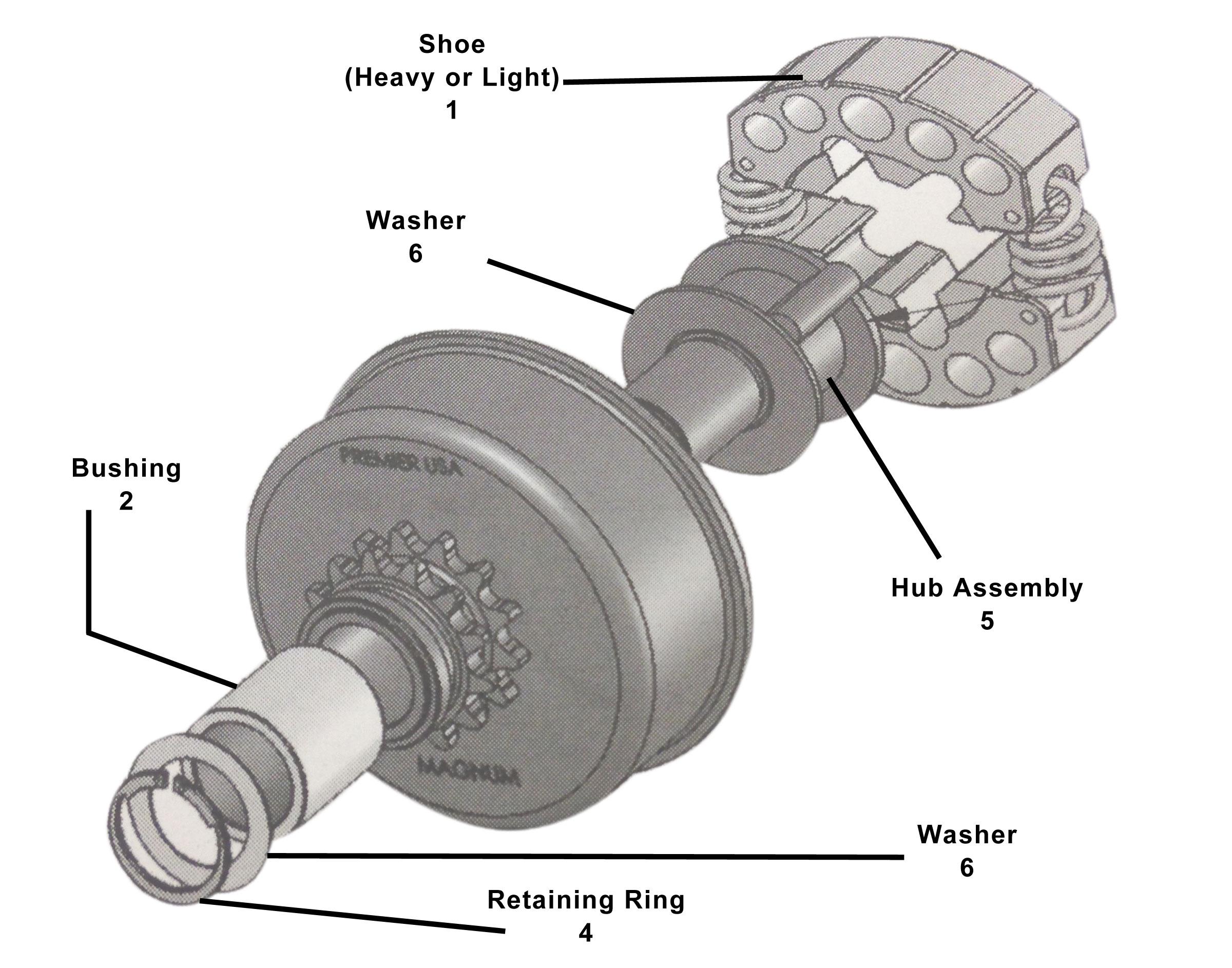 Replacement Parts Premier Magnum Clutch Tdap1201 Bmi