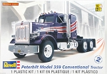 Peterbilt 359 Conventional Semi Truck (1/25 Scale) from Revell Models #851506