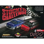 Stocker Challenge Electric Slot Car Racing Set by Tomy AFX (20')