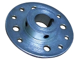 Steel Multi-Patterned Sprocket / Brake Hub (1-1/4