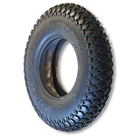 200 x 50 Studded Round Profile Tire