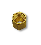 Compression Nut Brass Fitting  3/16''