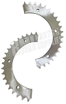 Azusa #40 Chain Sprocket (Split) .3 Thickness