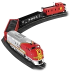 Santa Fe Flyer Freight Train Set from Bachmann 00647 - HO Scale