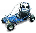 Blue Lightning Go Kart from ASW  - DISCONTINUED