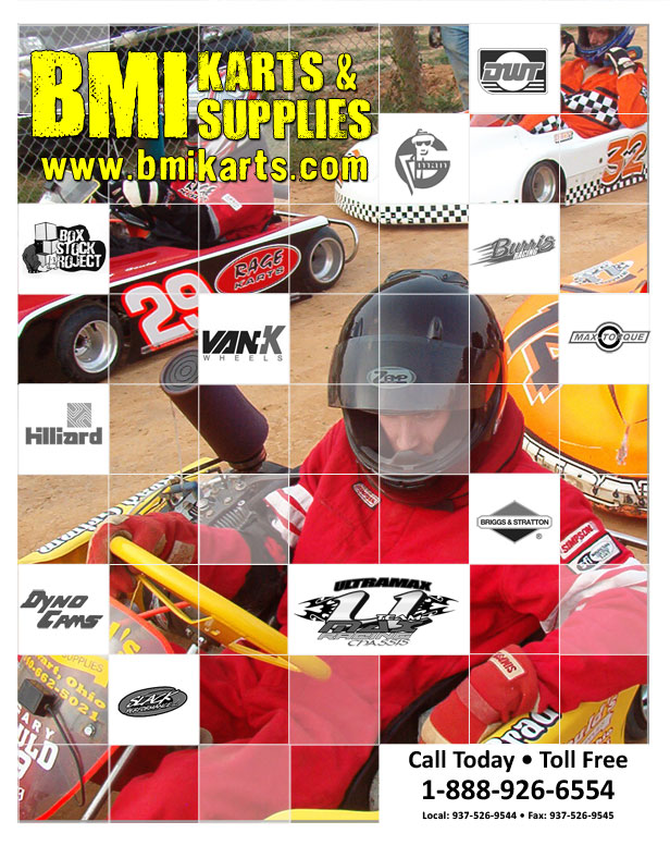 BMI Karts & Supplies 2012 Catalog
