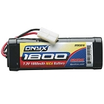 Duratrax Onyx 7.2V 1800mAh NiCd 6-Cell Battery Pack Stick with Standard Connector