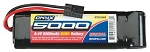 Duratrax Onyx 8.4V 5000mAh NiMH 6-Cell Battery Pack Stick with Traxxas Connector
