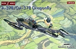 A-37B/OA-37B Dragonfly (1/48 Scale) Model Airplane from Encore #EC48002