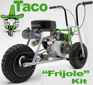 taco frijole mini bike taco frijole bmi karts and motorocycle parts