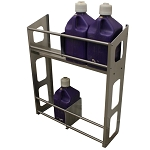 Fuel Jug Rack, Two Level, Holds (4-8) Jugs