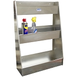 Wall Mount Lubricant Storage Tray (Large) (Aluminum)