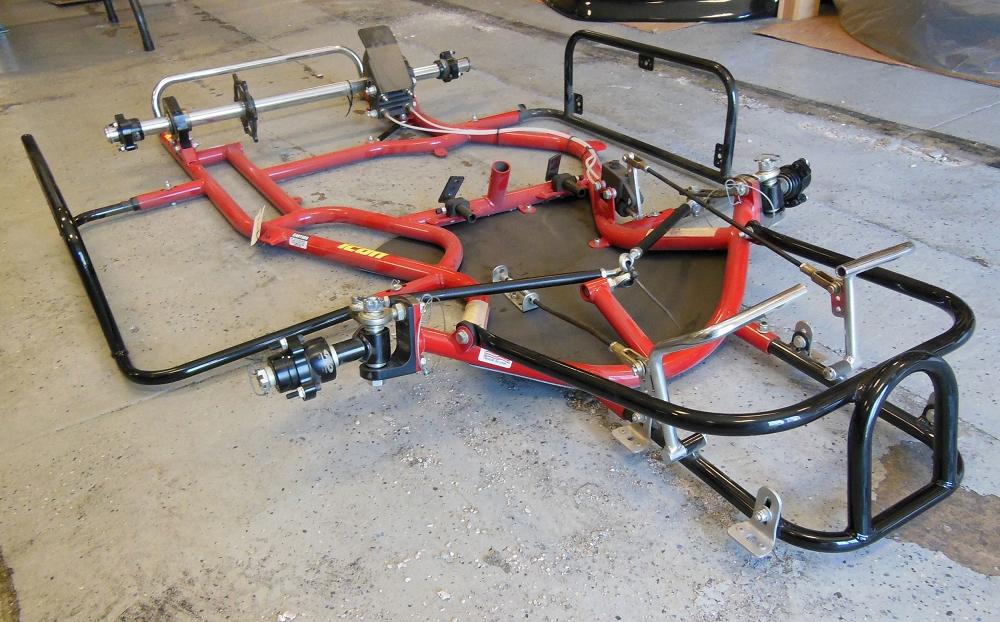 Racing go kart frame - Lookup BeforeBuying
